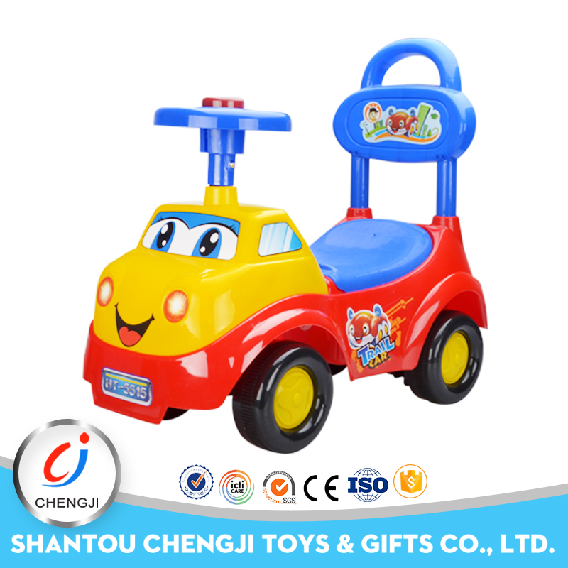 High quality Competitive Price cartoon plastic kids magic car