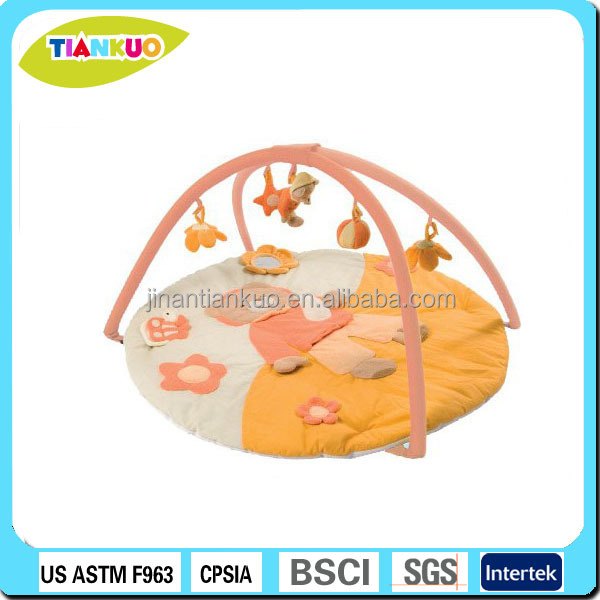 Educational toy fabric play mat baby activity play gym mat for baby