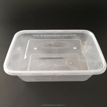sushi disposable plastic fast food one time use food container with lid
