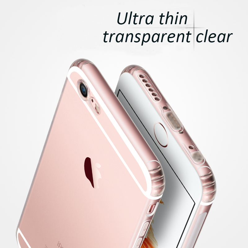 DFIFAN Hot transparent soft cover for iphone 6 case , clear slim case mobile cover case for apple iphone 6s