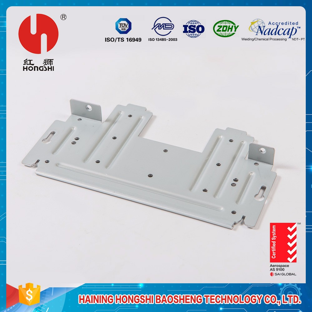 Keyboard mounting adapter metal blank stamping metal parts