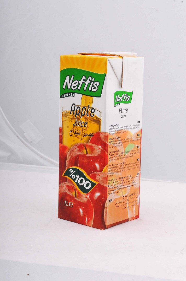 NEFFIS KIZIKLI 100% Apple Juice 1 Liter