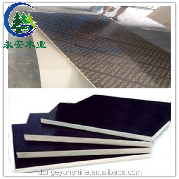 Two times hot press main material board plywood for construction