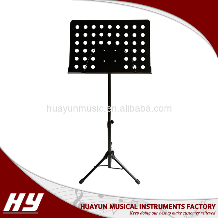 Musical instrument supplier folding sheet music stand small music stand
