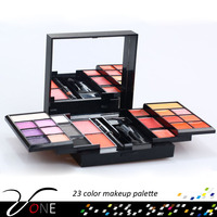 2016 very popular all shimmer makeup palette of 23 nice colors, long lasting