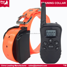 2017 New 300Yard Rechargeable Wireless Pet Dog Training Collar with Electric Shock and Vibration Amazon Private Label