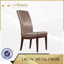 Banqueting iron used dining chairs/ banquet leather chairs/ used restaurant table and chair