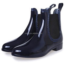 Women Half Wellington Rain Boots Over Shoe Chelsea Style Wellie