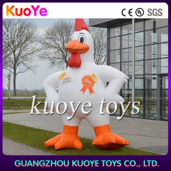 inflatable big chicken,fowl inflatable replica,advertising inflatable replica