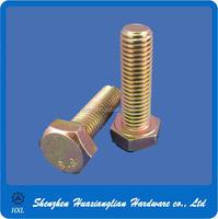 High tensile galvanized bolts grade 8.8 hex bolts hot dip galvanizing grade 8.8