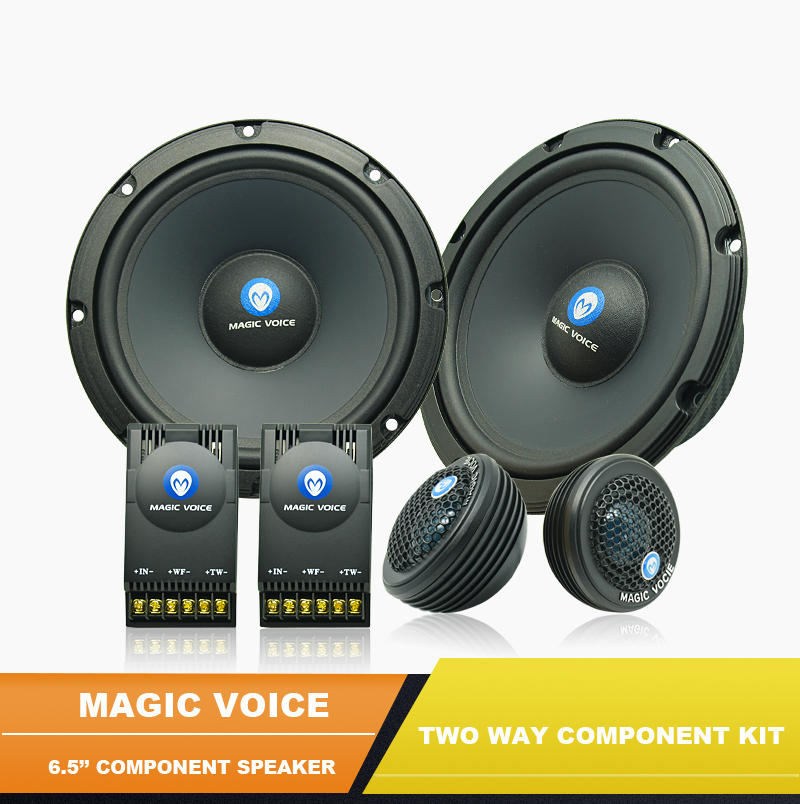 MAGIC VOICE brand high end 120watts 6.5inch car audio component speaker MC-C652