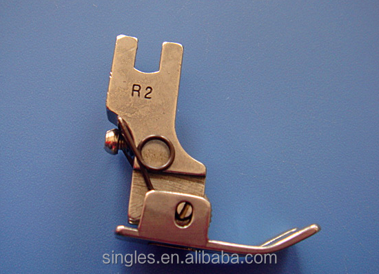 Supply high quailty sewing machine parts R2 whole steel presser foot