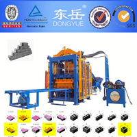 QT4-15 2013 new building construction material price in india brick block machine