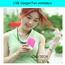 Summer Office Mini Pocket USB Fan Air Conditioning Fan Rechargeable Portable USB Gadget Fan ventilateur 400 mah