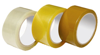 BOPP Printed tape white,yallow and red