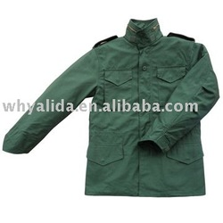 MILITARY ARMY STYLE OLIVE GREEN N/C M65 MILITARY JACKET