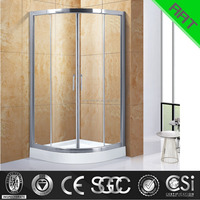 90*90 sliding door small shower cabin