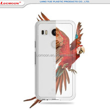 From China's leading factory transparent mobile phone back cover for Xiaomi Redmi 4
