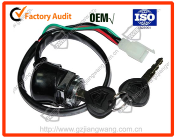 Hot sale motorcycle ignition switch and lock set for CG125/JH70/CG125III/AX100