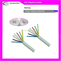 Factory Manufacture 5 pair telephone cable color code for Communication