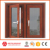 Thermal break double glazing aluminum windows and doors with mosquito net