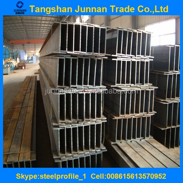 Cheap hot rolled mild steel H beam HEA HEB steel profiles