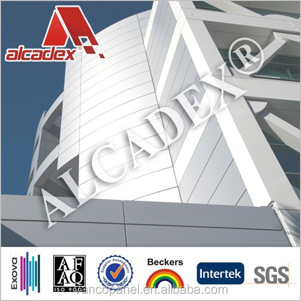 PVDF coating aluminum plastic composite panel acp/exterior wall cladding panel for building decoration projects