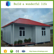 Low cost prefabricated house porta cabin 1 bedroom mobile homes