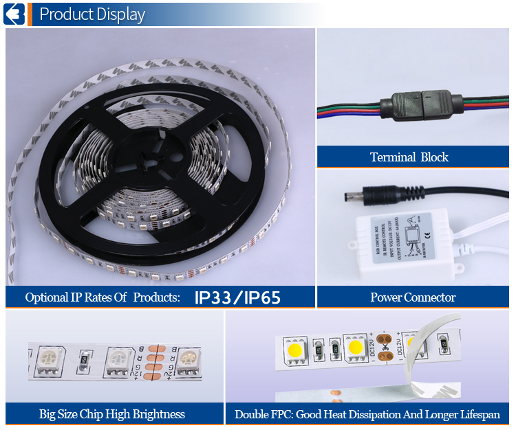 AC 220V 5050 LED Flexible Strip Light