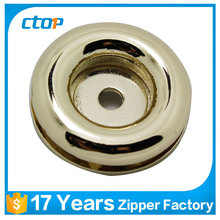 Wholesale custom round zinc alloy stainless steel metal Eyelet for bags and garment