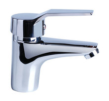 Chinese suppliers hot and cold mixer tap deck mount brass faucet