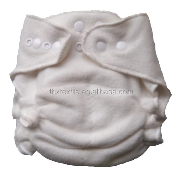 Bamboo Cotton Hemp Fitted Cloth Diaper