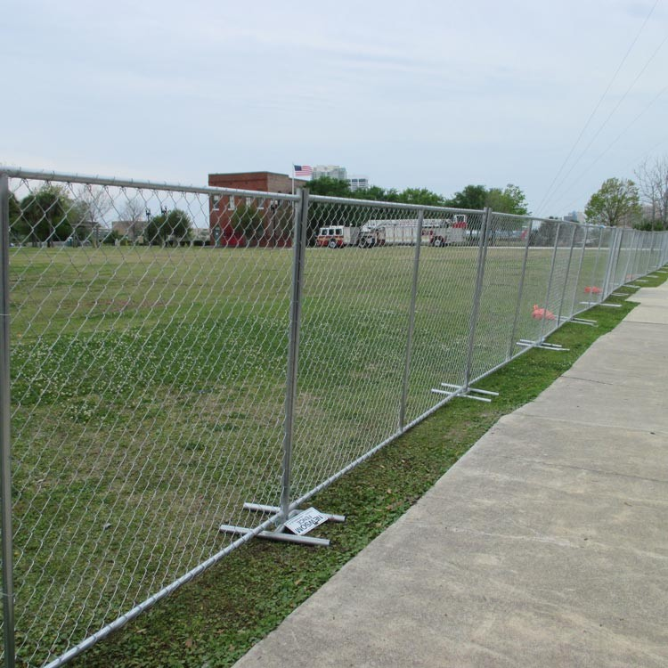Metal yard fencing