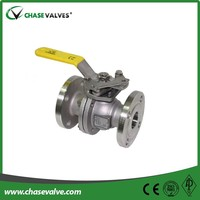 Cast steel floating 3 inch stainless steel BALL VALVE drawing