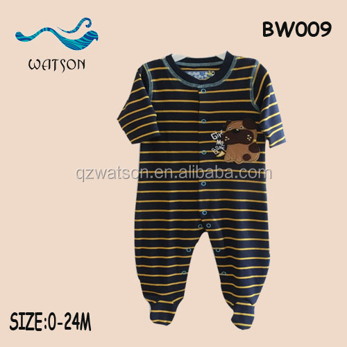 2016 wholesale baby one piece clothes baby romper