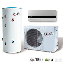 12000BTU large water supply split type R22 air source heat pump heat pump air conditioner