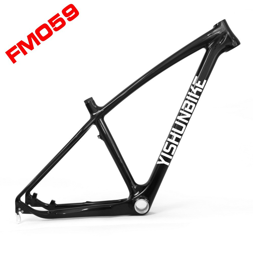 Lightcarbon 27.5er on sale china mtb carbon frame with BSA system mtb carbon frame fit for XC frame with quick release FM059