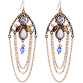 SHOWME E791128 new Western anti allergy earrings large costume allergy free earrings wholesale