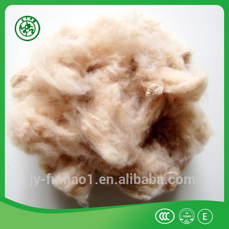 High quality pet flake polyester staple fiber with low price