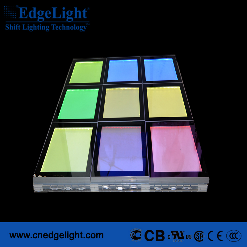 LED super large Aluminum profile floor advertising light box