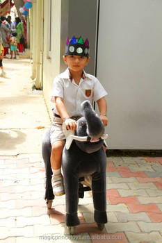 Beautiful toy horse on wheels for Kids
