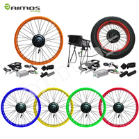 Front rear wheel electric bike kit 48V 1000 1500 2000 3000watt electric wheel hub motor