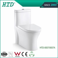 HTD-0837/0837A Vitreous china water closet