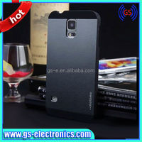 Alibaba china cheap price metal brushed cell phone hard case for samsung galaxy s5