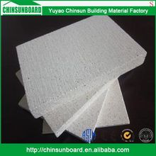 CE certificated Tested Waterproof Finely Processed Use fiber calcium silicate magnesium oxide board