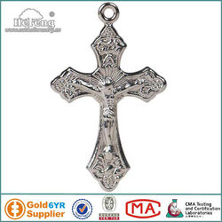 catholic cheap metal Jesus small crosses
