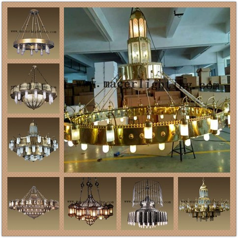 brass chandelier lighting for project decor