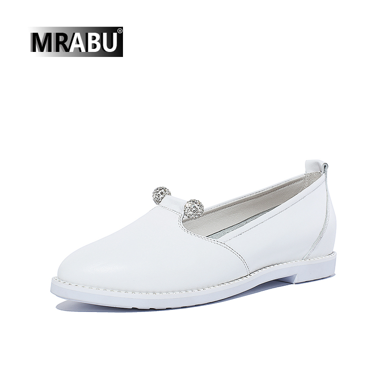 white casual leather handmade ladies beaded footwear china flat shoes 2017