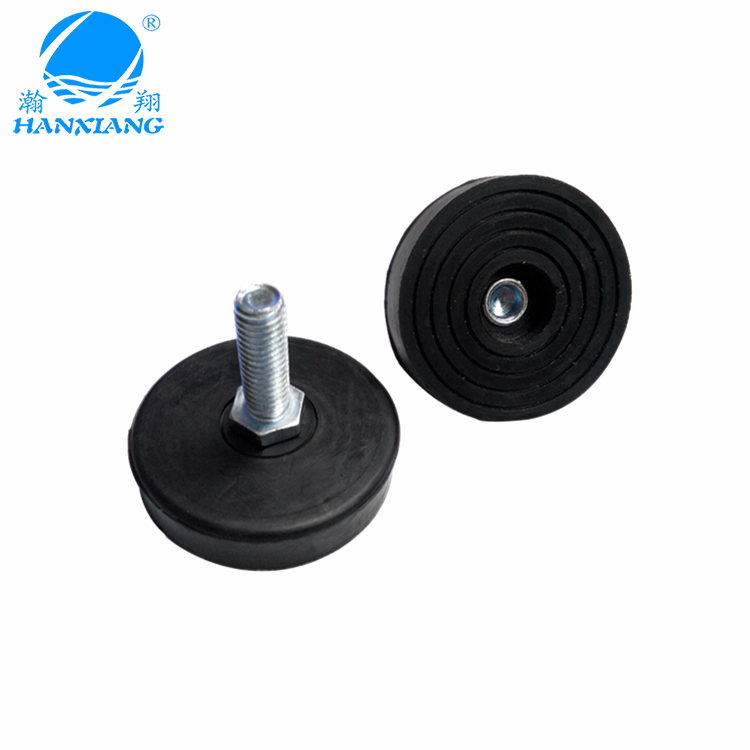 adjustable rubber feet with screw for furniture/chair