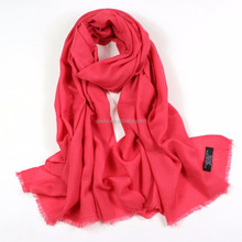 Dora Accessories High Quality 80S Oversized Bigger Women Plain Wool Cashmere Scarf